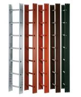 Лестница алюминиевая кровельная для работы на крыше (пр-во Германии)